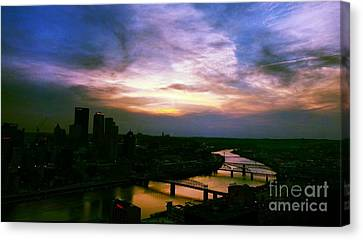 New Slate  Canvas Print by Charlie Cliques