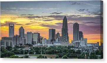 New South Summer Sunset Canvas Print by Brian Young