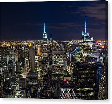 New York City Canvas Print by Larry Marshall
