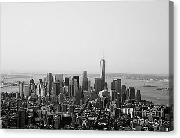 New York City Canvas Print by Linda Woods
