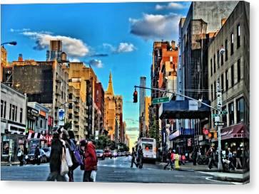 New York City Walk Canvas Print by Dan Sproul