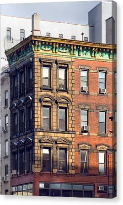 New York City - Windows - Old Charm Canvas Print by Gary Heller