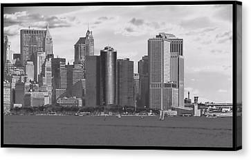 New York Harbor Canvas Print by Dan Sproul