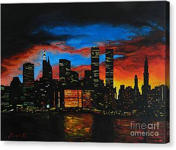 New York In The Glory Days Canvas Print by Alexandru Rusu