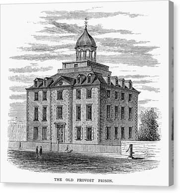 New York: Prison, C1776 Canvas Print by Granger