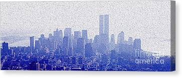 New York Skyline Canvas Print by Jon Neidert