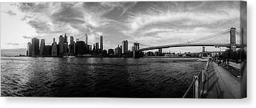 New York Skyline Canvas Print by Nicklas Gustafsson