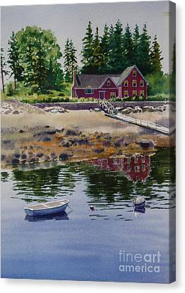 Newagen Dingy Canvas Print by Karol Wyckoff