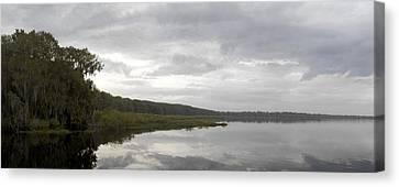 Newnans Lake Canvas Print by William Ragan