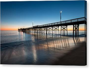 Newport Beach Sunset Series 22 Canvas Print by Josh Whalen