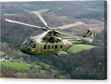 Next Generation Presidential Helicopter Canvas Print by Lockheed Martin