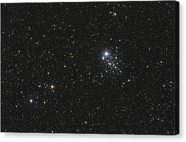 Ngc 457, The Owl Cluster Canvas Print by Lorand Fenyes