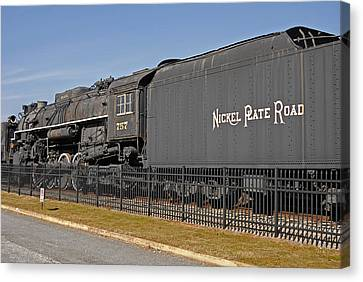 Nickel Plate Road Canvas Print by Skip Willits