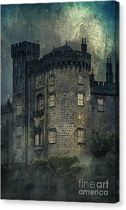 Night Castle Canvas Print by Svetlana Sewell