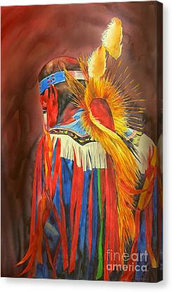 Night Dancer Canvas Print by Robert Hooper