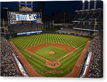 Night Game Canvas Print by Frozen in Time Fine Art Photography