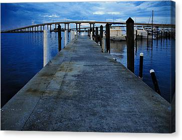 Night Is Falling But What Do I See Canvas Print by PhotoArtist PhotoArtist