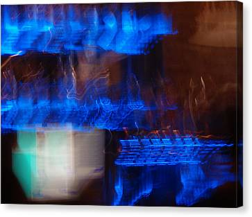 Night Life Canvas Print by Canyon Cassidy