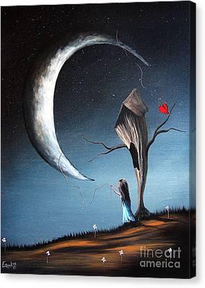 Night Light By Shawna Erback Canvas Print by Shawna Erback