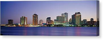 Night New Orleans La Canvas Print by Panoramic Images