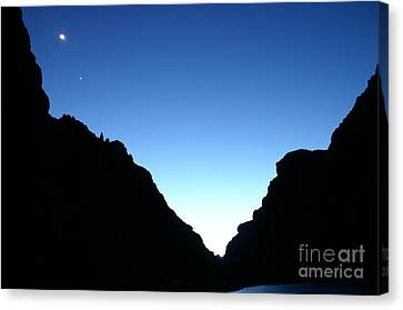 Night On The Grand Canvas Print by Crystal Magee