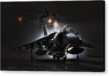 Night Ops Canvas Print by Peter Chilelli