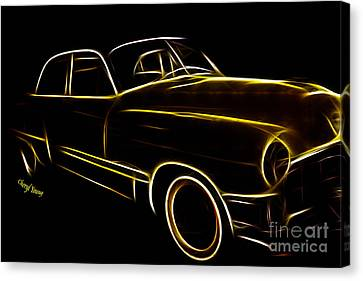 Night Rider Canvas Print by Cheryl Young