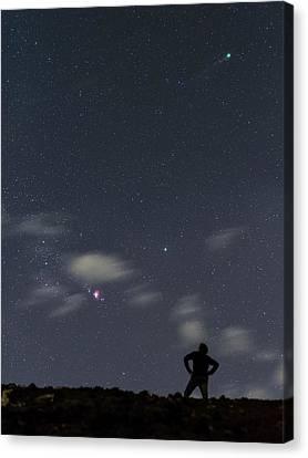 Night Sky Over Canary Islands Canvas Print by Babak Tafreshi