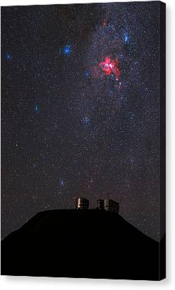 Night Sky Over Paranal Observatory Canvas Print by Babak Tafreshi