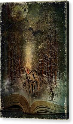 Night Story Canvas Print by Svetlana Sewell