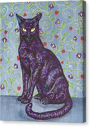 Nightshade Canvas Print by Beth Clark-McDonal