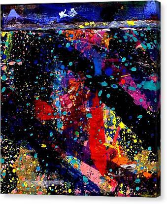 Nighttown V Canvas Print by John  Nolan