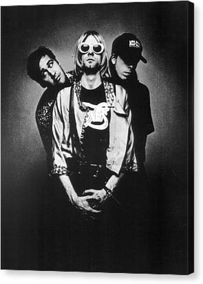 Nirvana Band Canvas Print by Retro Images Archive
