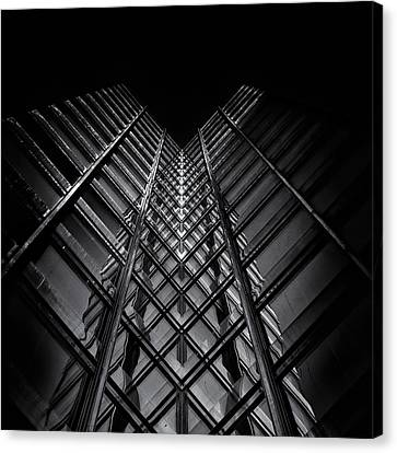 No 11 King St W Toronto Canada Canvas Print by Brian Carson