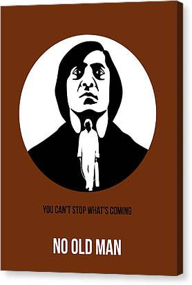 No Country For Old Man Poster 4 Canvas Print by Naxart Studio