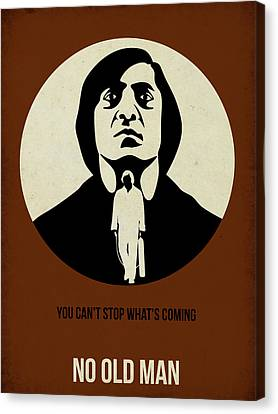 No Country For Old Man Poster Canvas Print by Naxart Studio