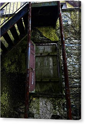 No Entry Canvas Print by Richard Reeve