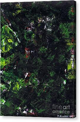 No Leaf Clover - Right Canvas Print by Kamil Swiatek