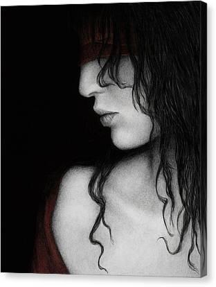 No Looking Back Canvas Print by Pat Erickson