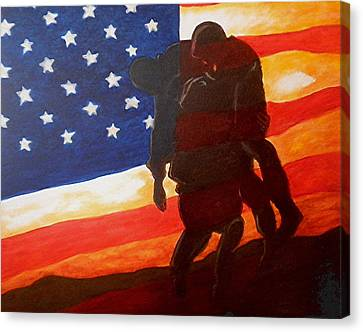 No One Gets Left Behind Canvas Print by Al  Molina