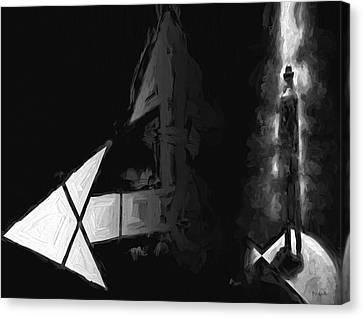 No One There Canvas Print by Bob Orsillo