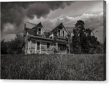No Place Like Home Canvas Print by Aaron J Groen