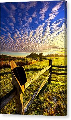 No Worries Canvas Print by Phil Koch