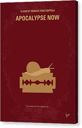 No006 My Apocalypse Now Minimal Movie Poster Canvas Print by Chungkong Art