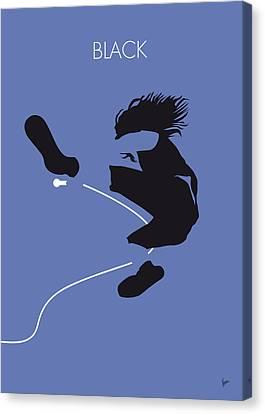 No008 My Pearl Jam Minimal Music Poster Canvas Print by Chungkong Art