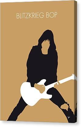 No020 My Ramones Minimal Music Poster Canvas Print by Chungkong Art