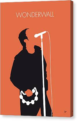No023 My Oasis Minimal Music Poster Canvas Print by Chungkong Art