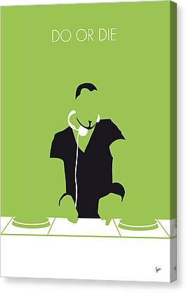 No026 My Afrojack Minimal Music Poster Canvas Print by Chungkong Art