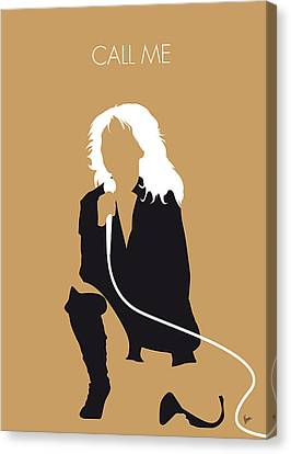 No030 My Blondie Minimal Music Poster Canvas Print by Chungkong Art