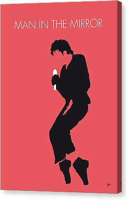 No032 My Michael Jackson Minimal Music Poster Canvas Print by Chungkong Art